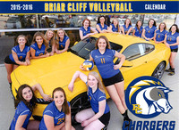 Calendar Shoot - BCU Volleyball Digs Sioux City Ford Lincoln